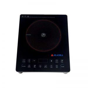 Bếp hồng ngoại Alaska CP-10 bề mặt bếp có lớp kính chịu nhiệt chịu lực