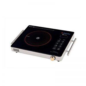 Bếp hồng ngoại Alaska CP-12 bề mặt bếp có lớp kính chịu nhiệt chịu lực