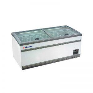 Tủ đông kính phẳng Alaska SDC-950Y làm lạnh nhanh