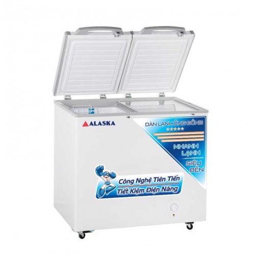 Tủ đông mát Alaska FCA-3600C thiết kế sang trọng