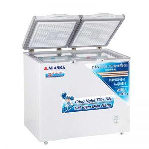 Tủ đông mát Alaska BCD-4568C thiết kế hiện đại
