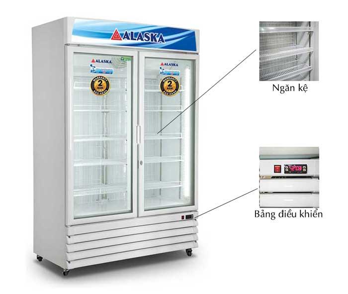 Tủ đông đứng Alaska IF-700G2