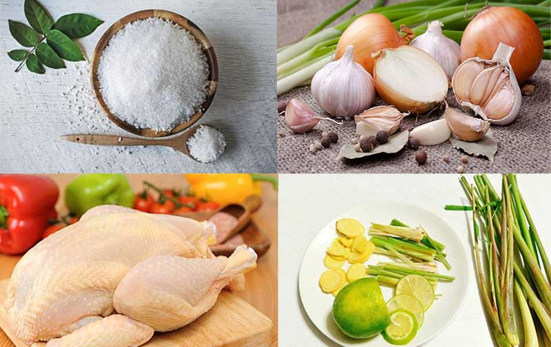 Hấp dẫn với món gà hấp muối bằng nồi cơm điện
