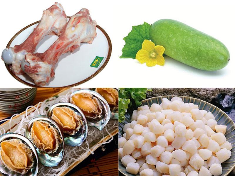 Cách làm súp bào ngư sườn heo bí đao đầy dinh dưỡng