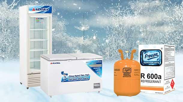 Gas R600A trên tủ đông có tác dụng gì?